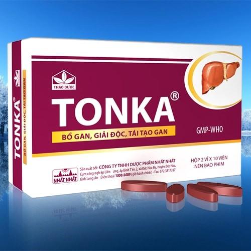 Hình ảnh thuốc bổ gan Tonka