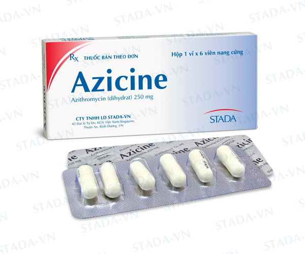 Thuốc Azicine 250mg
