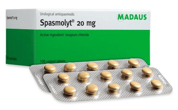 Thuốc Trospium 20 mg