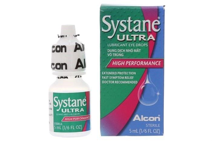 thuốc nhỏ mắt chữa cận thị Systane Ultra