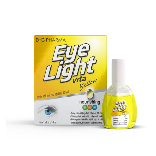 Thuốc nhỏ mắt điều trị chứng mỏi mắt