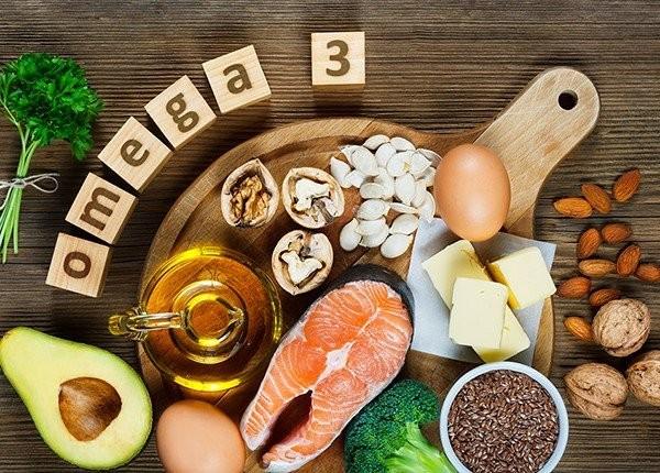 Axit béo omega-3 thành phần giúp làm sáng và dưỡng mắt tốt