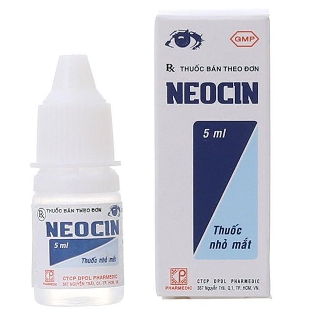 thuốc kháng sinh nhỏ mắt Neocin