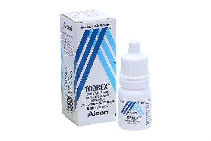 thuốc kháng sinh nhỏ mắt Tobrex