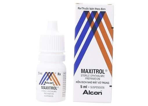thuốc kháng sinh nhỏ mắt Maxitrol