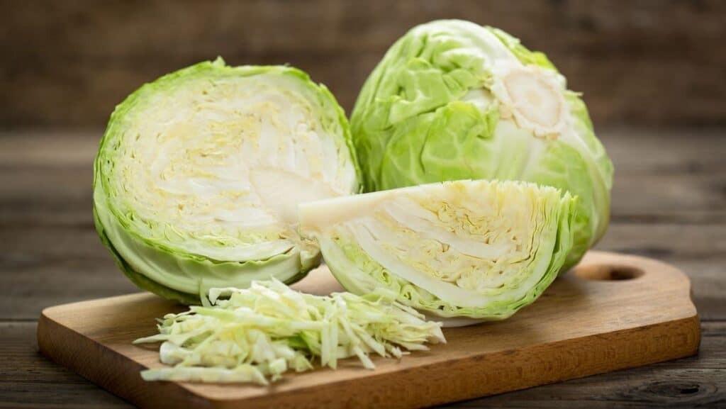 Bắp cải chứa hàm lượng dinh dưỡng cao