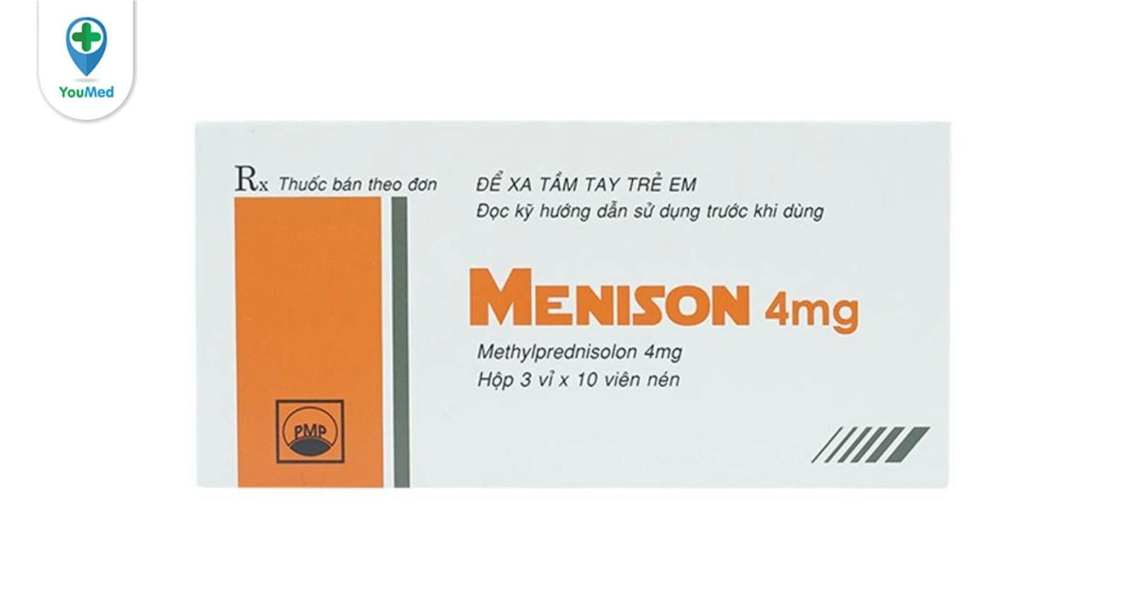 Thuốc Menison là thuốc gì? giá, công dụng và những lưu ý bạn cần biết