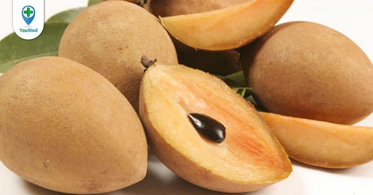 Hồng xiêm: giá trị bất ngờ đến từ loại trái cây thơm ngon