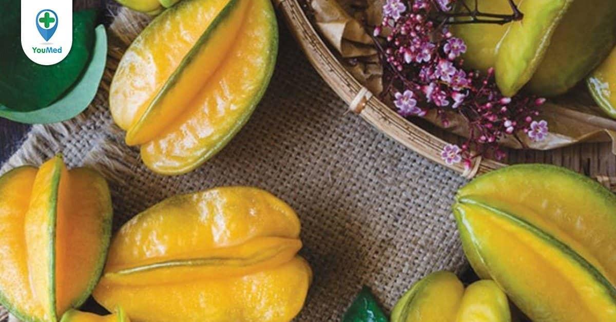 Khế: Loại trái cây vàng quen thuộc cho sức khỏe