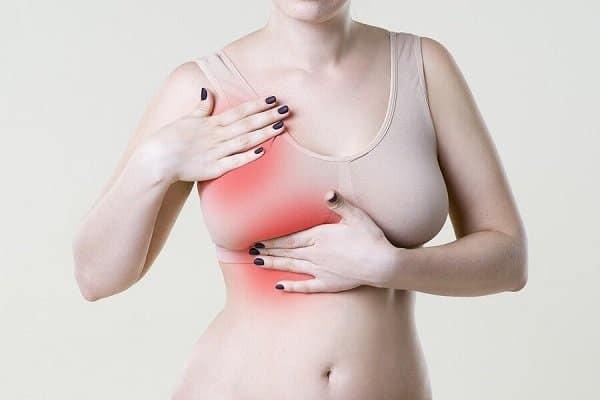 Đau vú bất thường có thể chỉ điểm tình trạng ung thư vú