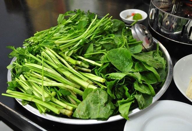 Rau cần ta được dùng làm nhiều món ăn bổ dưỡng.