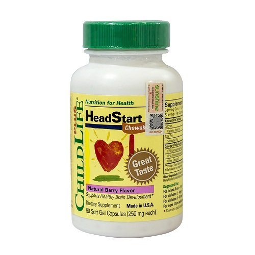 Thuốc bổ não cho trẻ tự kỷ Childlife HeadStart