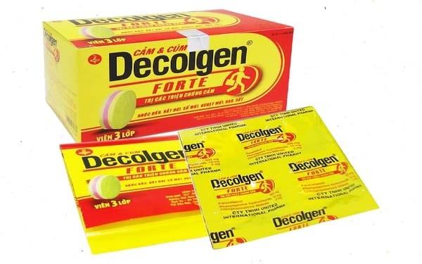 Tìm hiểu thông tin thuốc Dcolgen