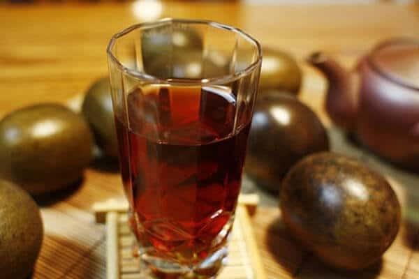 Nước quả La hán vị ngọt dịu, giảm ho, thanh nhiệt rất tốt.