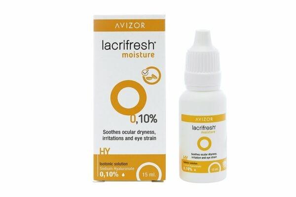 Dung dịch nhỏ mắt Avizor Lacrifresh Moisture 0.1% 15ml