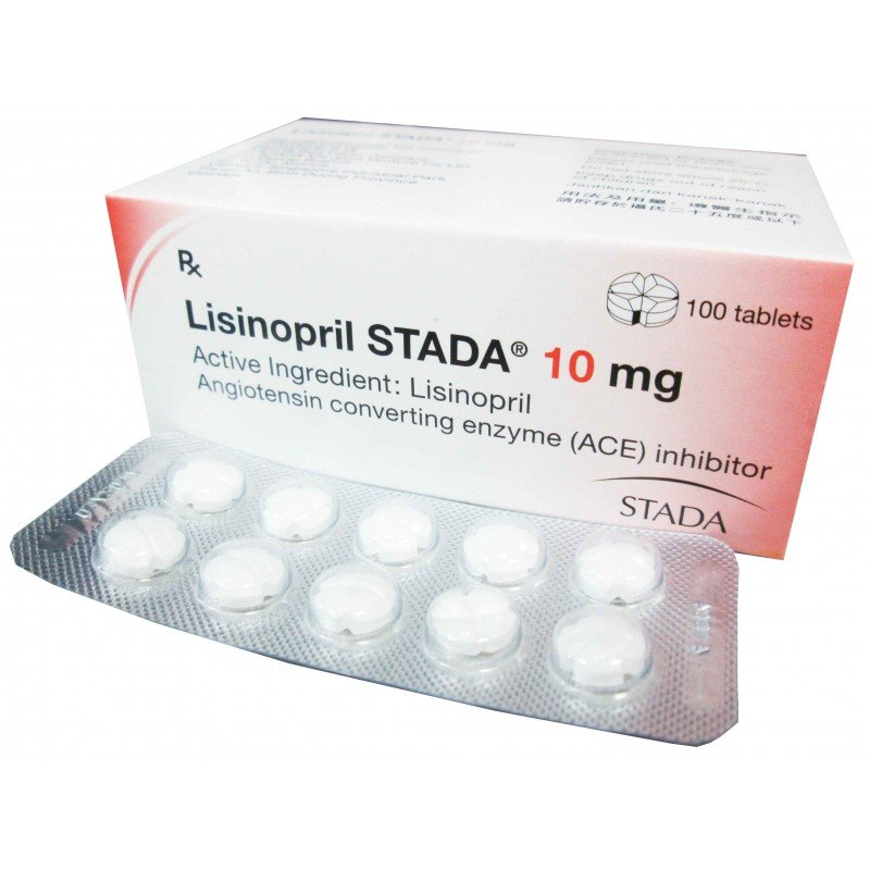 lisinopril stada 10mg