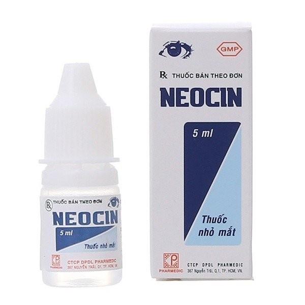 Thuốc nhỏ mắt kháng sinh Neocin chai 5 ml
