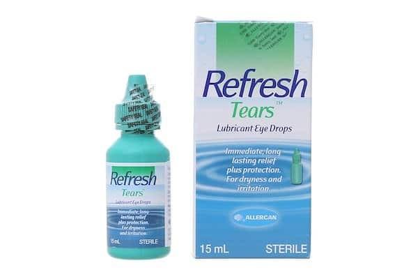 Nước mắt nhân tạo Refresh Tears chai 15 ml được dùng phổ biến