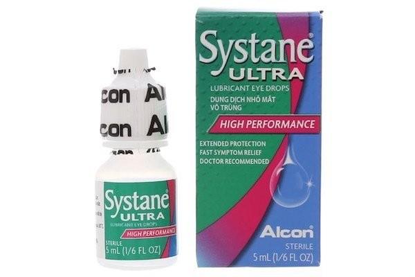 Nước mắt nhân tạo Systane Ultra chai 5 ml là loại thuốc trị đau mắt hàn hiệu quả