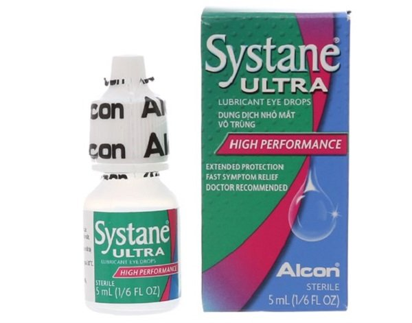 thuốc nhỏ mắt trị mộng thịt Systane ultra 5ml