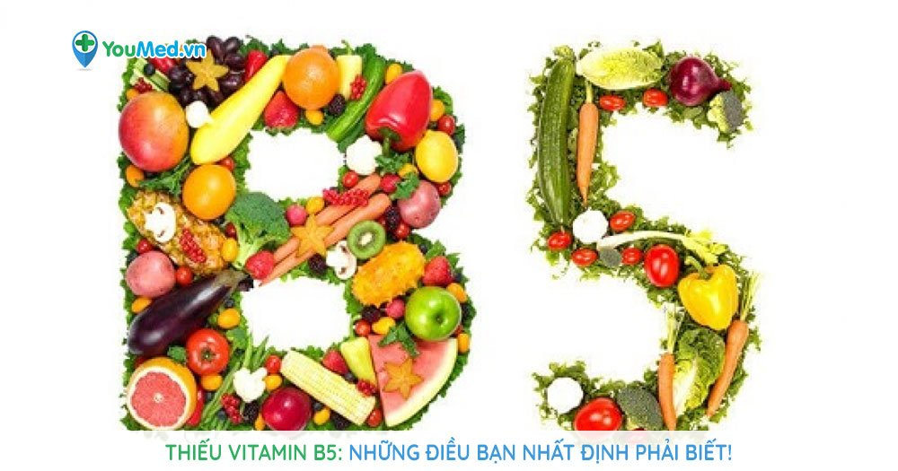 Thiếu vitamin B5