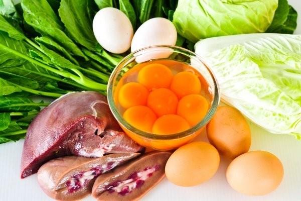 Nguồn thực phẩm giàu vitamin B5