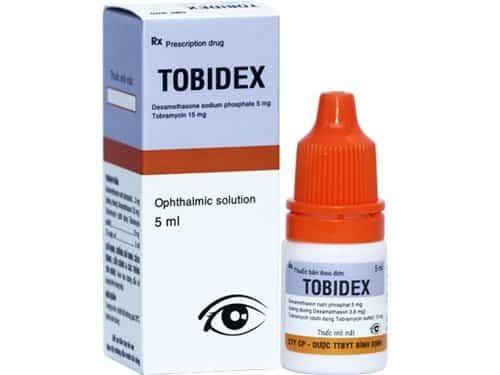 Thuốc nhỏ mắt Tobidex