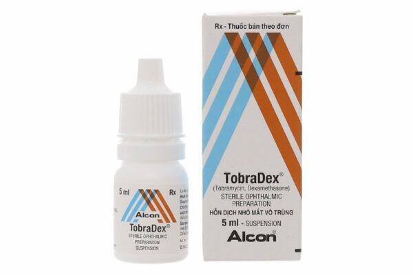 thuốc nhỏ mắt tốt nhất hiện nay Tobradex