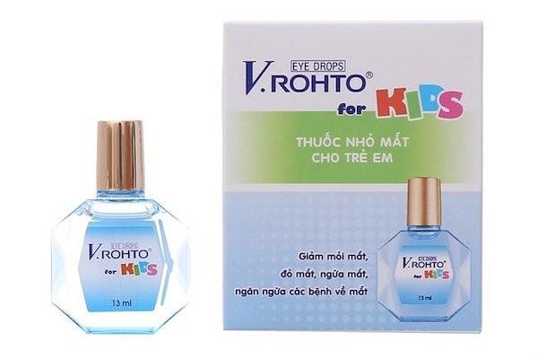 Thuốc nhỏ mắt cho trẻ em V.rohto for kids