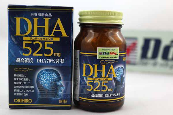 Viên bổ não DHA 525