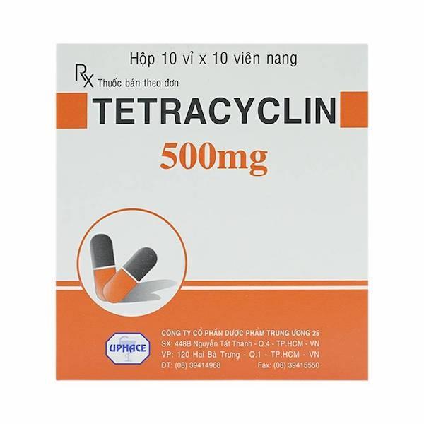 Thuốc kháng sinh Tetracyclin