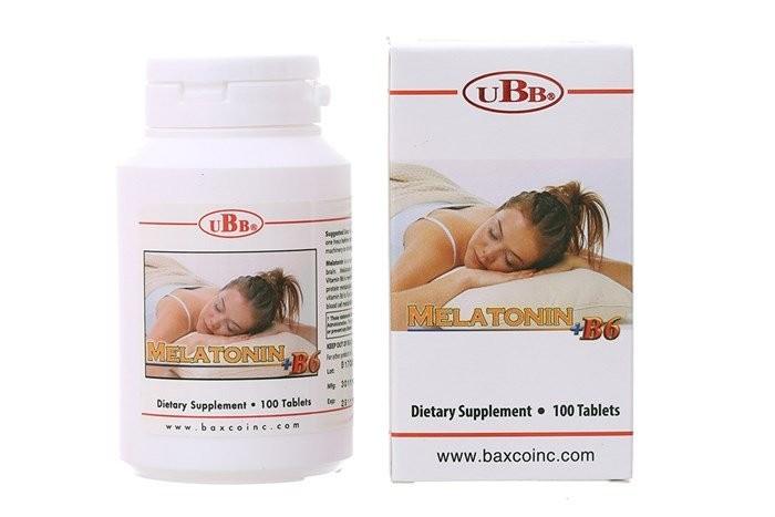 Thuốc Melatonin + B6 UBB