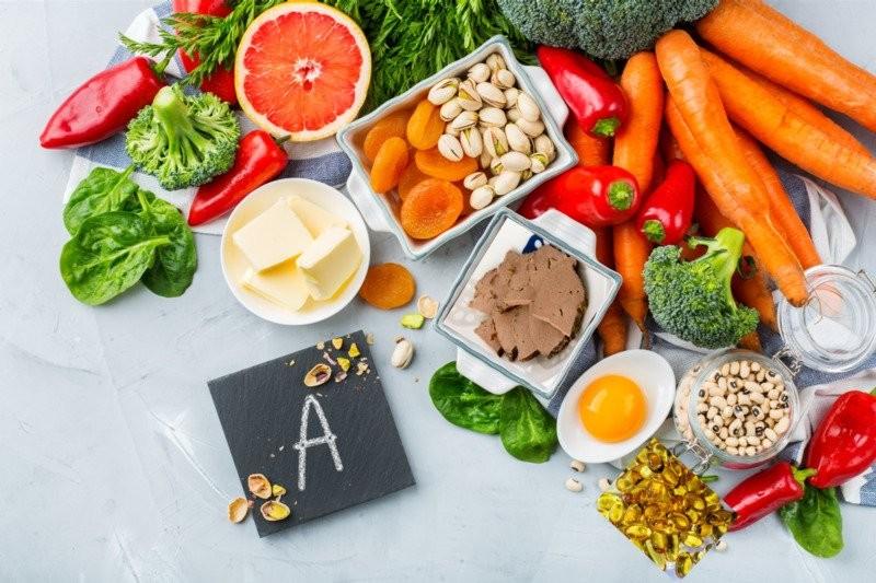 Vitamin A có nhiều trong các loại thực phẩm