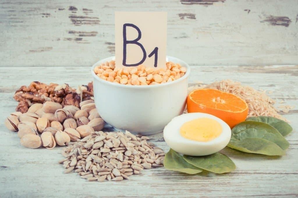 Vitamin B1 có trong nhiều loại thực phẩm
