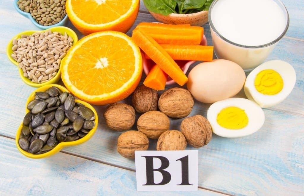 Vitamin B1 có nhiều trong các loại thực phẩm