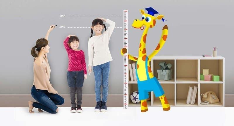 Các yếu tố ảnh hưởng đến chiều cao của trẻ