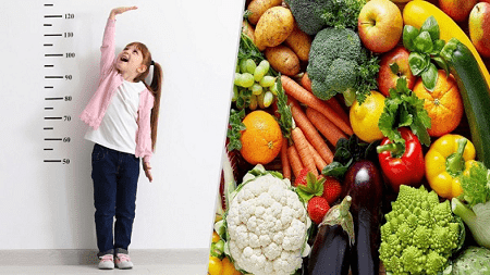 Chế độ dinh dưỡng cho trẻ tăng chiều cao