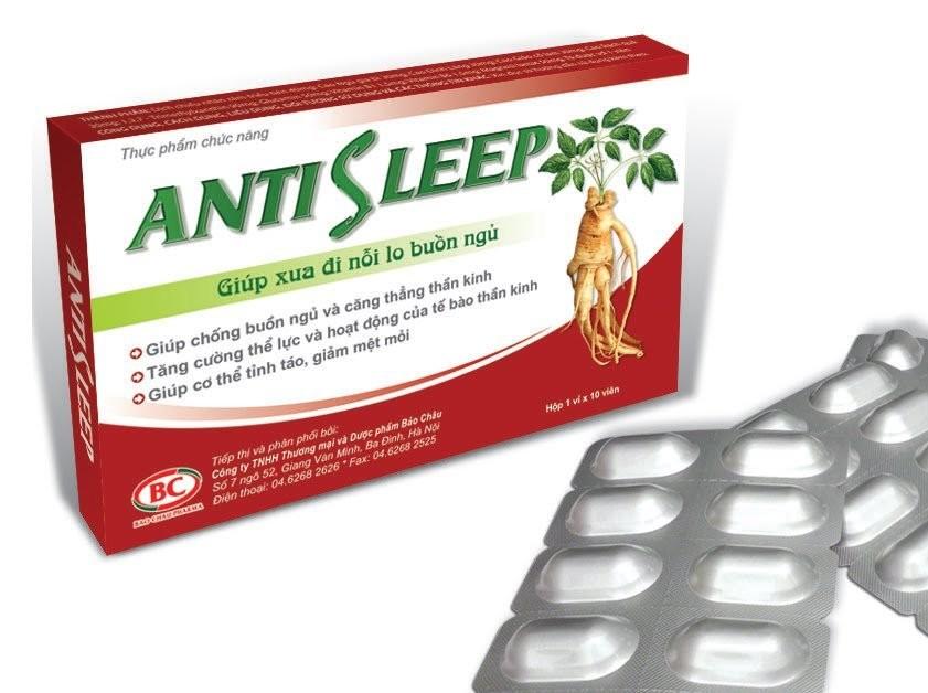 Thuốc chống buồn ngủ Antisleep