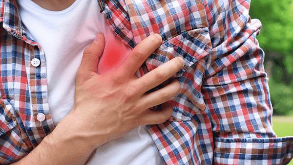 Suy tim là biến chứng muộn của nhồi máu cơ tim