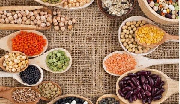 Các loại đậu chứa nhiều chất xơ, protein, đây cũng là thực phẩm chứa nhiều sắt