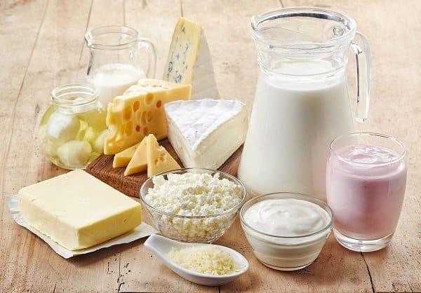 Sữa và sản phẩm từ sữa
