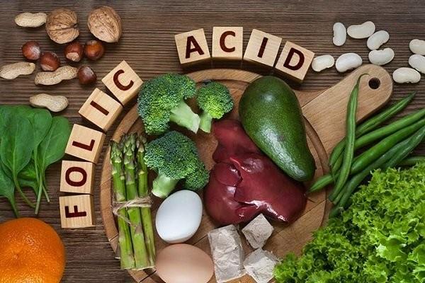 Các thực phẩm giàu acid folic cho bà bầu 3 tháng đầu