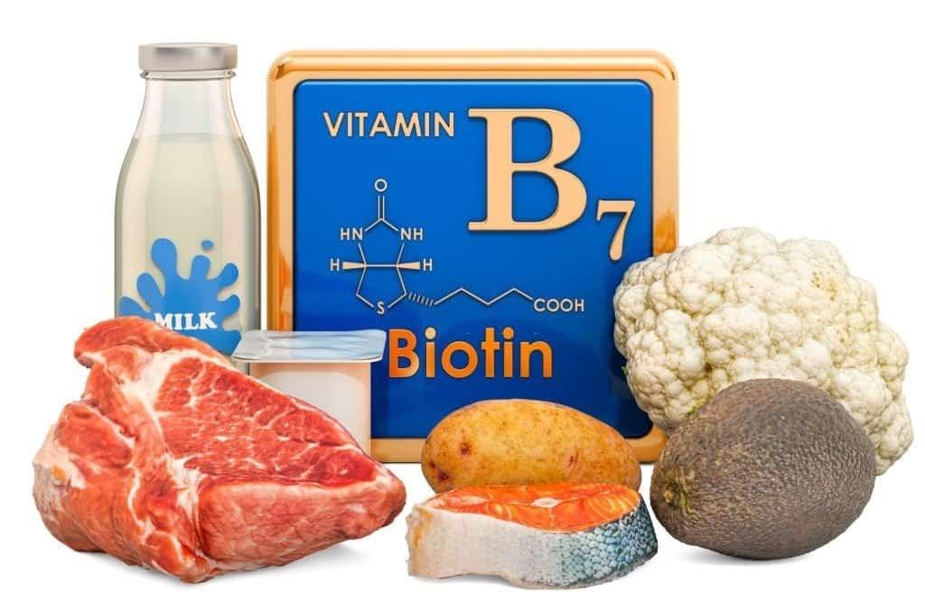 Biotin có trong nhiều loại thực phẩm