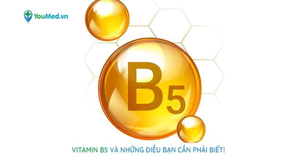 Vitamin B5 là gì?