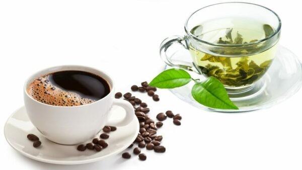 Trà xanh và cà phê đen là các thức uống tốt cho sức khỏe và có thể giúp giảm cân nếu dùng đúng cách
