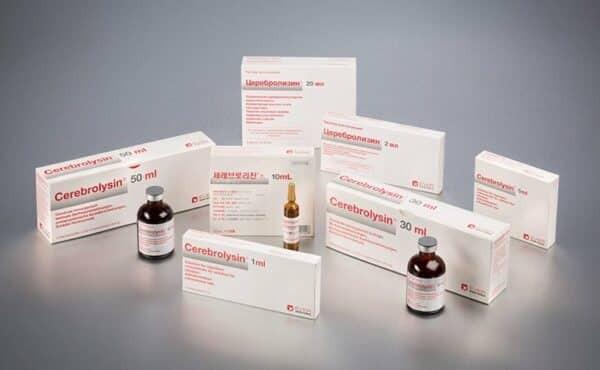 Thuốc tiêm bổ não Cerebrolysin 1