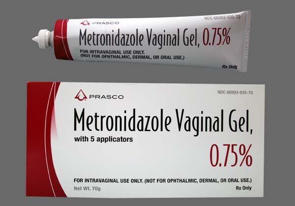 Hình 2: Có thể điều trị viêm âm đạo khi mang thai bằng các thuốc kháng sinh bôi tại chỗ để ngăn tác dụng bất lợi của thuốc