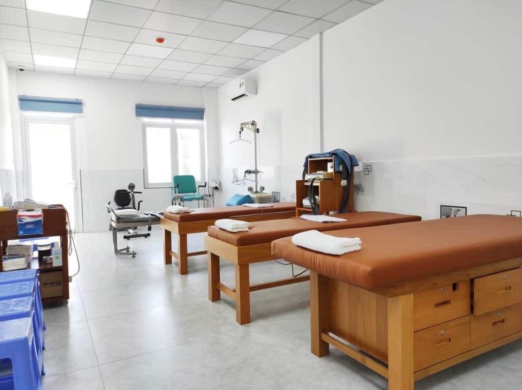 Cơ sở khang trang sẵn sàng phụ vụ bệnh nhân tới khám và điều trị