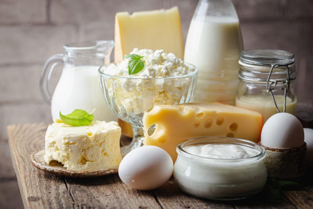 Các chế phẩm từ sữa có lượng kẽm dồi dào tốt cho nam giới