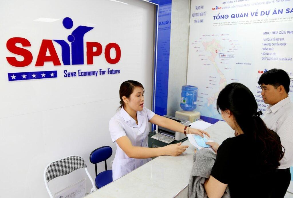 Phòng chờ phòng tiêm chủng SAFPO